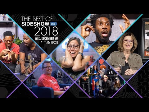 Best of Sideshow Live 2018 - Happy Holidays!