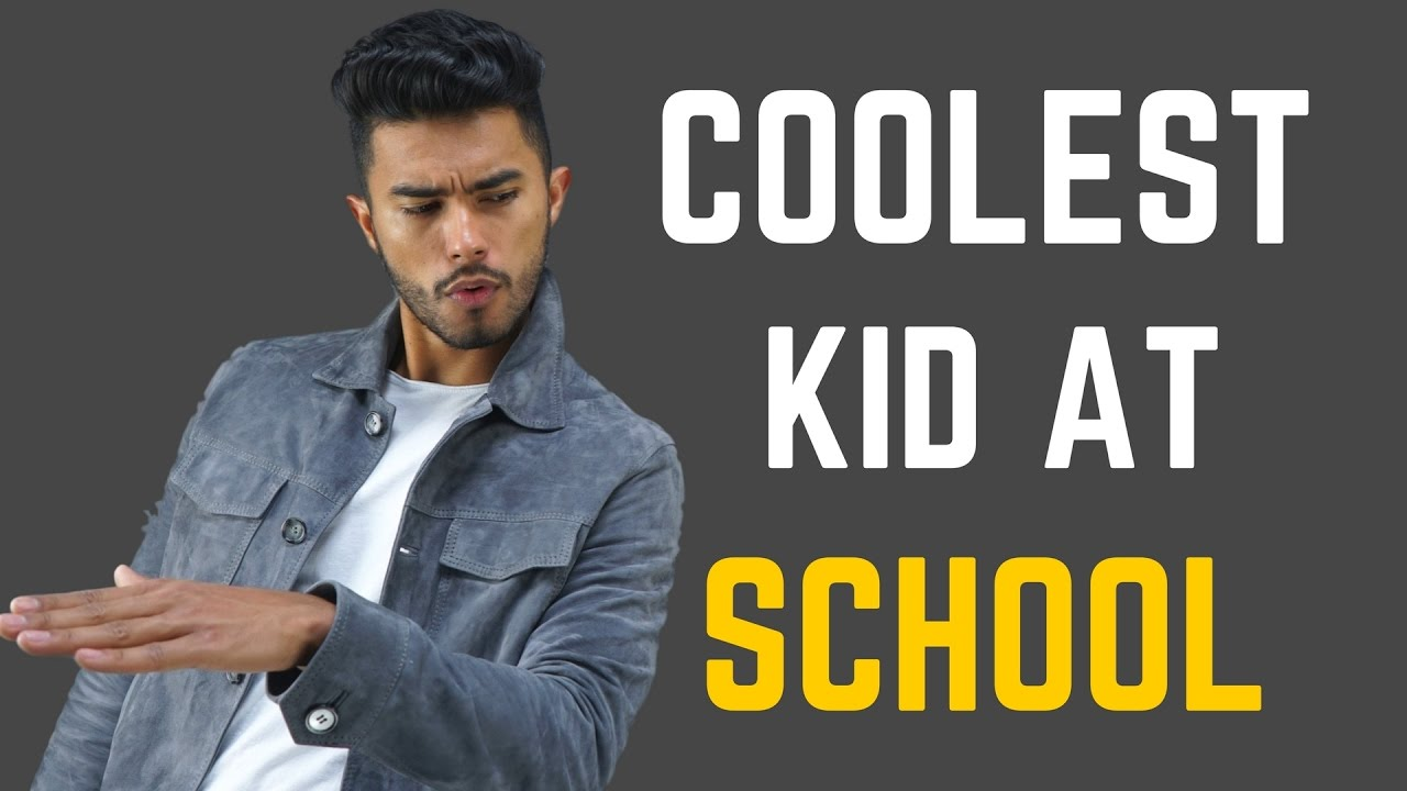 Coolest kid at school!