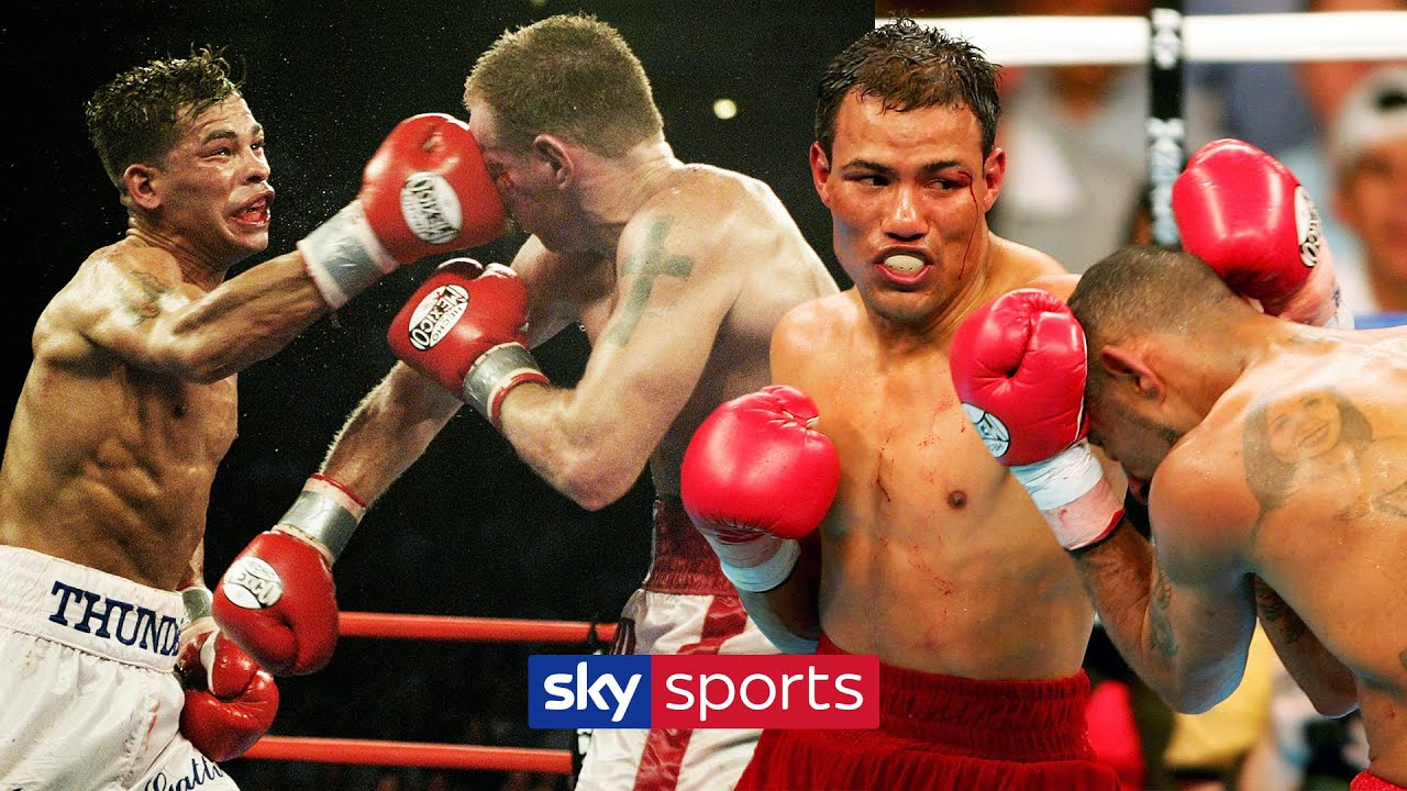 Top 10 GREATEST single rounds in boxing history!