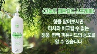 초록느낌 편백나무 피톤치드의 차별화(피톤치드스프레이,피…