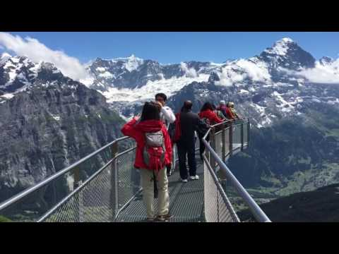 Cliff walk grindelwald first