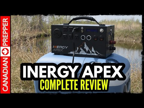 The Inergy Apex Solar Generator Review | 2019 | Emergency Backup Power