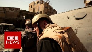 Raqqa: Inside the ruined