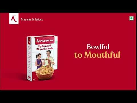 Hyderabadi Biryani Masalas   Annapoorna Masalas & Spices