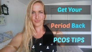 How I Overcame PCOS Amenorrhea- TIPS &Tricks