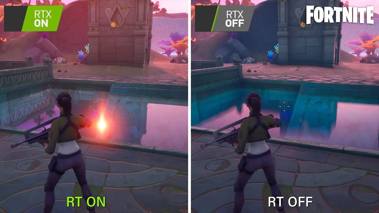 Fortnite RTX ON vs. RTX OFF | is Ray Tracing really worth it?