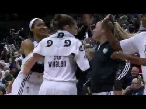Maya Moore Powers Lynx with Career Playoff-High 33 Points!