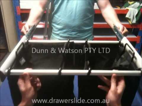 D&W - Slide Out Laundry Hamper