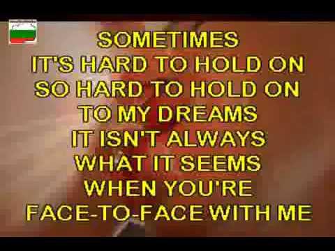Lita Ford i Ozzy Osbourne Close My Eyes Forever karaoke instrumental