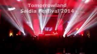Saidia Festival 2014 - la energia de Quique Tejada