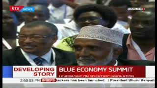I look forward to next week as we engage the world  Uhuru full speech in blue economy summit