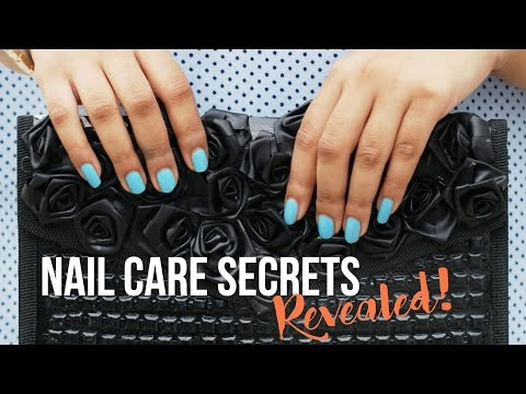 Quick Tips To Get Strong & Healthy Nails | Nail Care