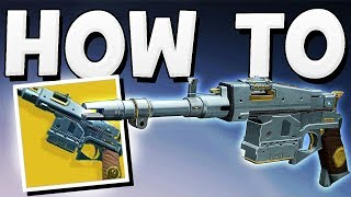 Destiny 2 - how to get sturm exotic hand cannon best exotic ever !!