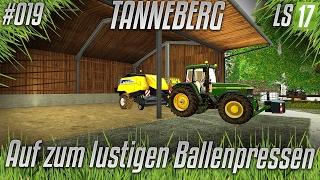 LS17 - Tanneberg #019 - auf zum lustigen Ballenpressen [HD] [german] | SimuFreunde