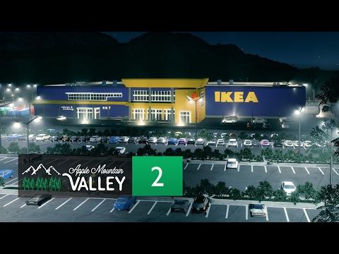 Cities Skylines Apple Mountain Valley - Part 2 - Retail Development