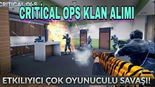 Critical ops klan alımı | Critical ops klan çekilişi