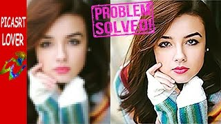 PICSART PROBLEM    How to get high quality output image in PicsArt IMAGE KO HD ME KAYSE SAVE KARE