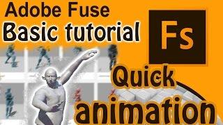 Adobe Fusible de CC Gratis Tutorial de Animación de personajes 3D [Mixamo]