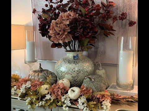 New Badcock Furniture Buffet || Fall Home Decor 2019