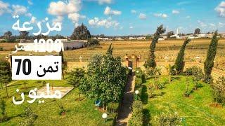 نواحي الدار البيضاء أحد السوالم طريق سيدي رحال مزرعة روعة محفظة 1200متر تمن70مليون 212661247058