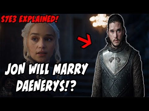 A Union Of Ice and Fire?! Game Of Thrones Season 7 Episode 3 EXPLAINED!