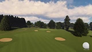 Macdonald Portal Flythrough Championship Golf Course