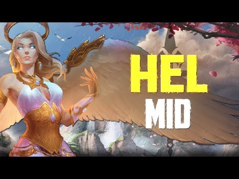 NEW HEL SKIN PROVIDES THE ULTIMATE POWER! - Incon - Smite - Hel Mid