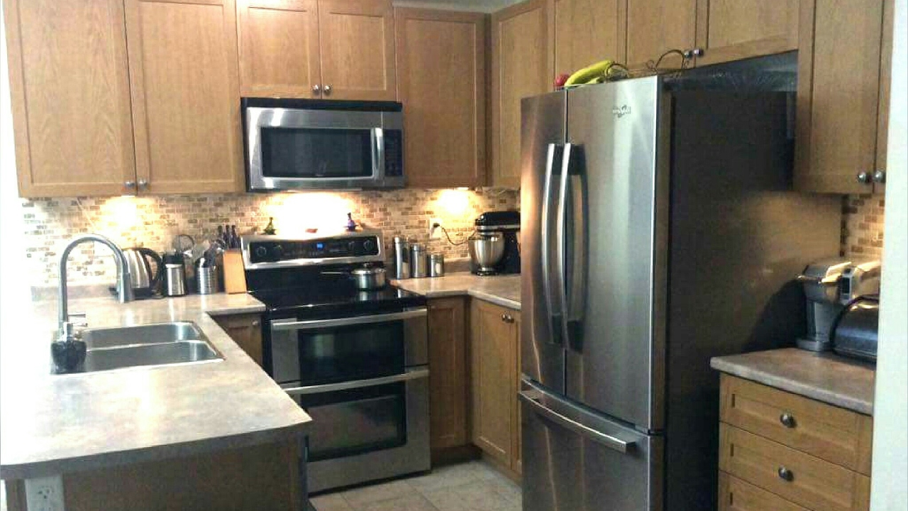 58529d0befc83 جولة في مطبخي افكار ،تنظيم و حيل بسيطة kitchen tour - YouTube