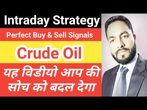 Crude Oil Trading Strategy | Crude Oil Intraday Trading Strategies In Hindi | Crude Oil Trading