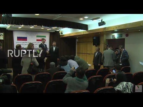 Iran: Novak hails 'breakthrough' trade deal with Iran
