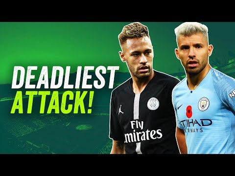 Which European club has the DEADLIEST ATTACK: Man City, PSG, Barcelona, Dortmund or Juventus?