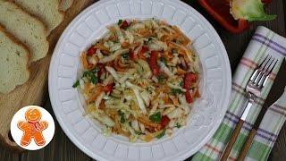 Салат из Свежей Капусты с Изюминкой