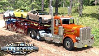 Droga przez las - American Truck Simulator | (#29)
