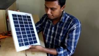 Solar Connection 1! Solar Connection in Bangla ! Solar Light ! Solar Power! Solar System