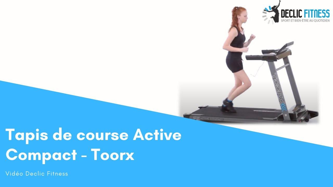 tapis de course active compact toorx declic fitness
