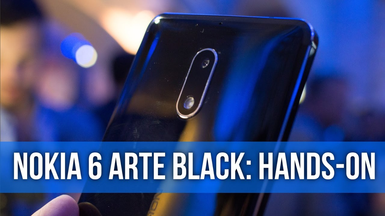 Nokia 6 Arte Black Video So Shiny Nokia 6 Arte Black Hands On Preview
