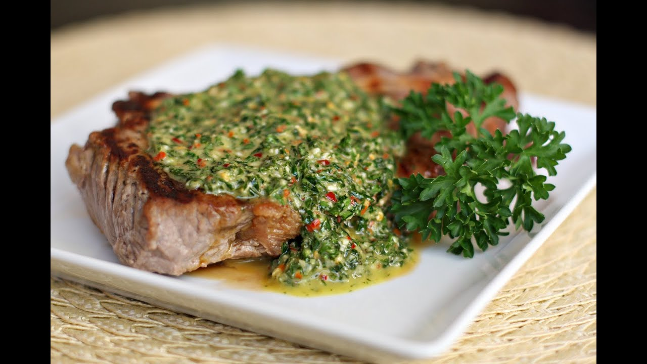 Image result for Receita Chimichurri.