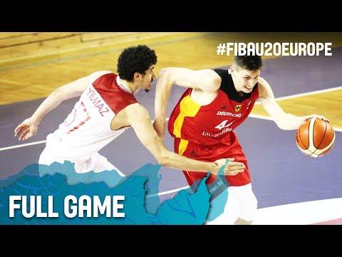 Turkey v Germany - Full Game - Round of 16 - FIBA U20 European Championship 2017