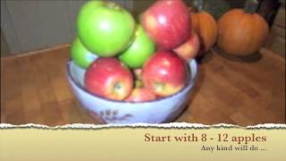Making Homemade Apple Cider Vinegar For Pennies!