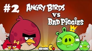 Angry Birds Vs Bad Piggies Walkthrough Part 2