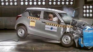Maruti Swift Crash Test   Scores 2/5 Stars   All Details #In2Mins