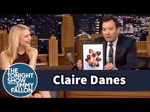 Claire Danes Shares Her Family's AvantGarde Easter Eggs