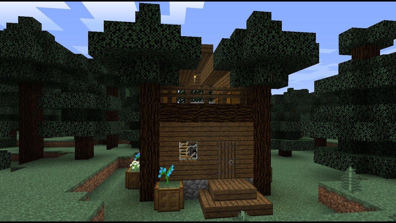 Дома в лесу для майнкрафт