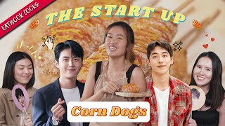 We Tried Making The Start-Up's Corn Dogs   Eatbook Cooks   EP 51