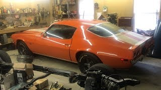 TIME CAPSULE 1970 Z28 CAMARO FOUND!!! Stumbled Upon In A Small Tennessee Garage