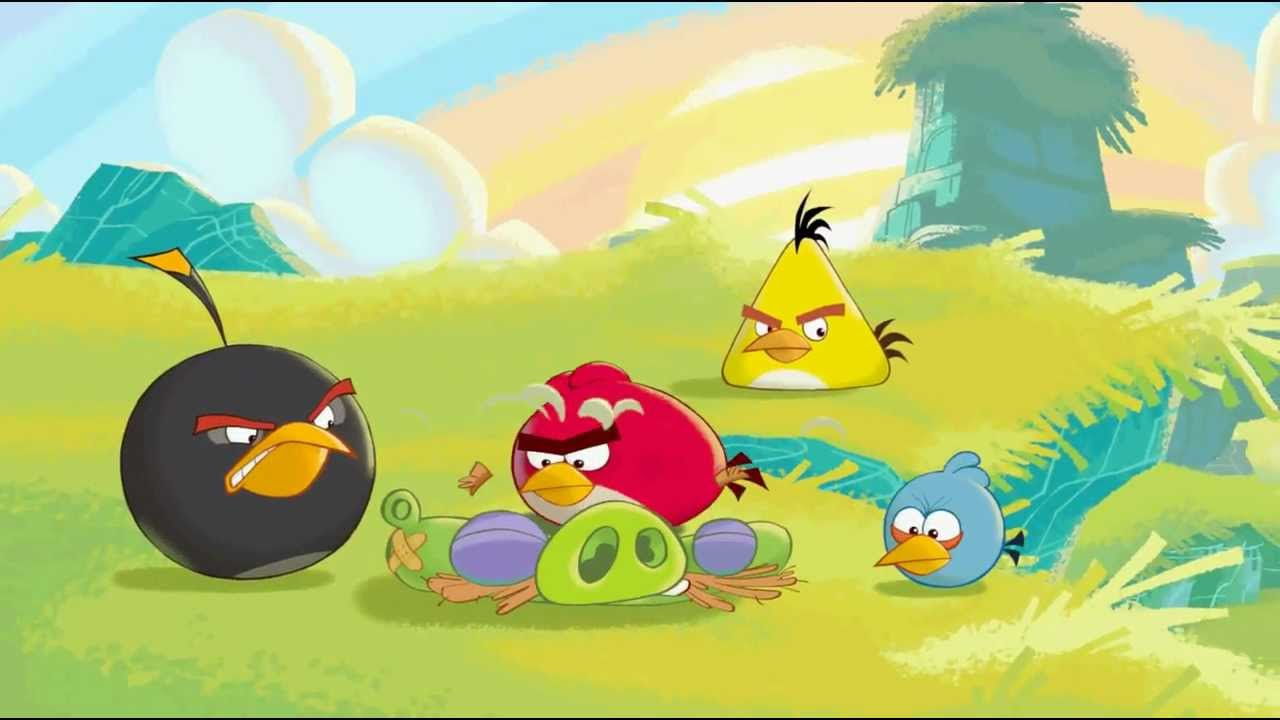 Angry Birds Go Cutscenes - Shefalitayal