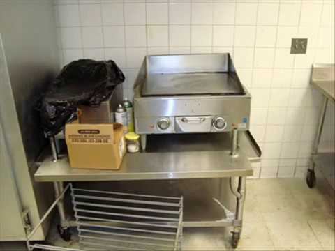 Snack Bar Restaurant Food Prep Equipment PACKAGE Liquidation [July 2009]
