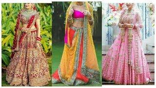 Top Punjabi Bridal Lehenga Designs 2018 || Bridal lehenga choli Designer dresses for girls 2018