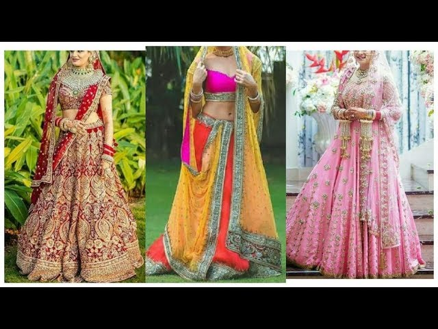 Top Punjabi Bridal Lehenga Designs 2018 || Bridal lehenga choli Designer dresses for girls 2018