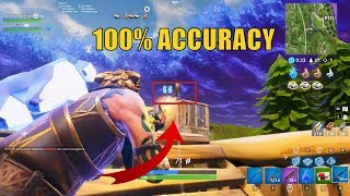 [#15] 100% Accuracy - aimbot.exe? - Fortnite Funny Moments Clips Montage